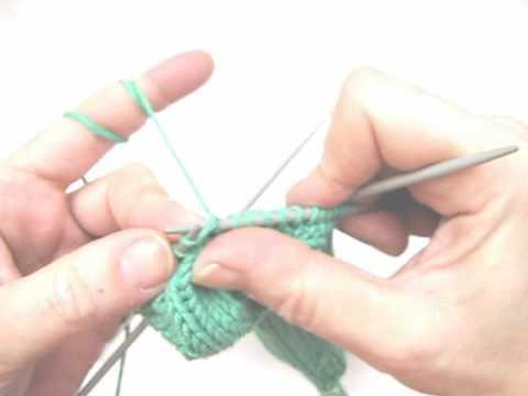 Socken stricken 5 * Ferse beenden * Fußteil