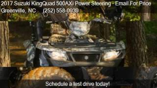 10. 2017 Suzuki KingQuad 500AXi Power Steering  for sale in Gree