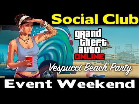 Club event - GTA ONLINE SOCIAL CLUB EVENT WEEKEND. Are you guys going to participating in this Event for Grand Theft Auto Online? You can get more RP & other cool prizes ...