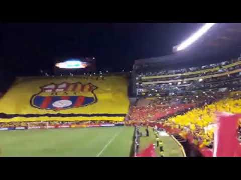 Recibimiento MONUMENTAL BARCELONA S.C. Vs santos Copa Libertadores 2017 - Sur Oscura - Barcelona Sporting Club