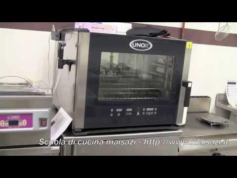 Scuola per cuochi: il forno a convezione / vapore