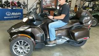 7. 2013 Can-Am Spyder RT Limited