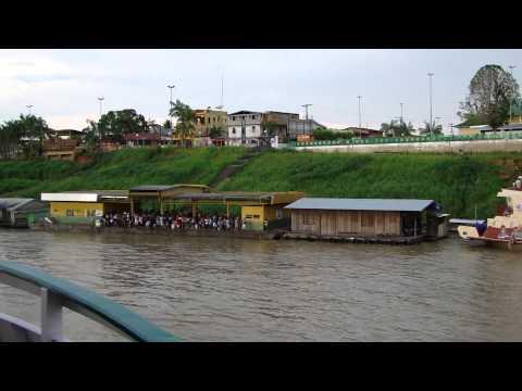 BARCO ATRACANDO EM CODAJÁS - AMAZÔNIA          MAH00131