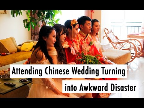TRAVEL VLOG CHINA: Attending Chinese Wedding Turning Into Awkward Disaster // 参加中国婚礼还有离开中国婚礼 (видео)