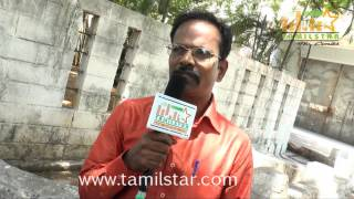 Director Suresh Nachatra at Eaganapuram Movie Launch