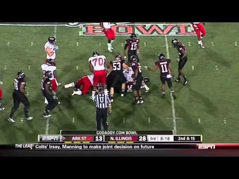 Ryan Aplin vs Northern Illinois 2011 video.