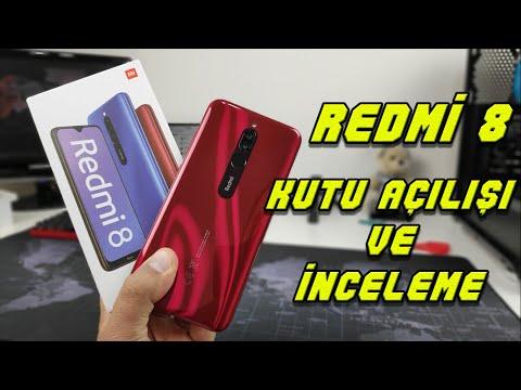Redmi 8 Kutu Açılışı ve İnceleme. Düşük Bütçeli Telefon İsteyenler Videoyu İzlemeden Karar Vermeyin.