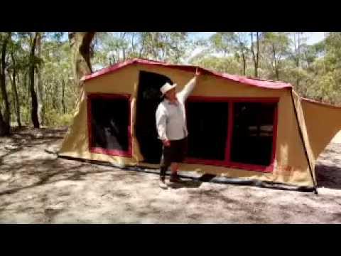 Black Series Camper Tent
