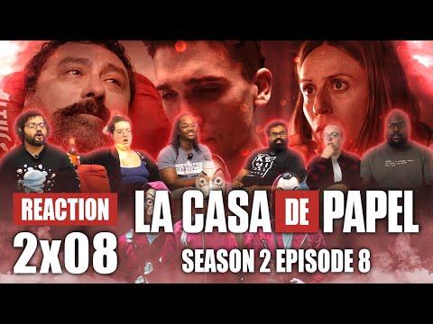 La Casa De Papel (Money Heist) - Season 2 Episode 8 - Group Reaction