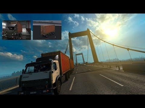 Kamaz 5320 with trailer v1.0
