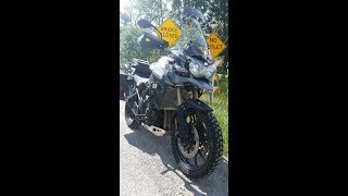 10. 2013 Triumph Explorer Loaded