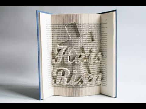 Book Folding Pattern Alphabet And Numbers Love Book Folding