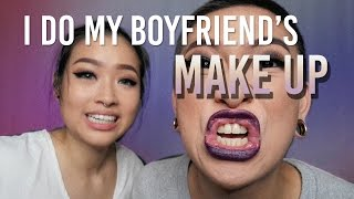 Video I DO MY BOYFRIEND'S MAKEUP | Marcella Febrianne MP3, 3GP, MP4, WEBM, AVI, FLV Desember 2018