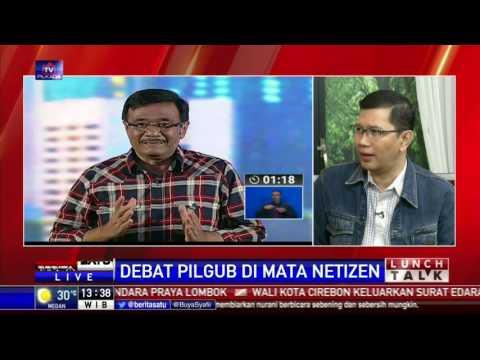 Lunch Talk: Debat Pilgub Di Mata Netizen #3