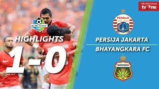 Video Persija Jakarta vs Bhayangkara FC: 1-0 All Goals & Highlight MP3, 3GP, MP4, WEBM, AVI, FLV Juni 2018