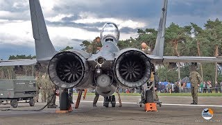 Video MiG-29 start-up to shut down | Polish Air Force | Kleine Brogel Air Base MP3, 3GP, MP4, WEBM, AVI, FLV Juni 2019