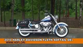 2. Used 2010 Harley Davidson Softail Deluxe Motorcycles for sale - Leesburg, FL