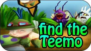 """FIND THE TEEMO auf der """"Definitiv nicht Dominion"""" Map"""