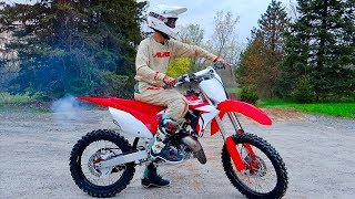 7. 2019 CR125 2 STROKE FIRST RIDE