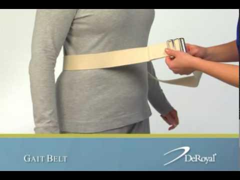 DeRoyal(R) Gait Belt
