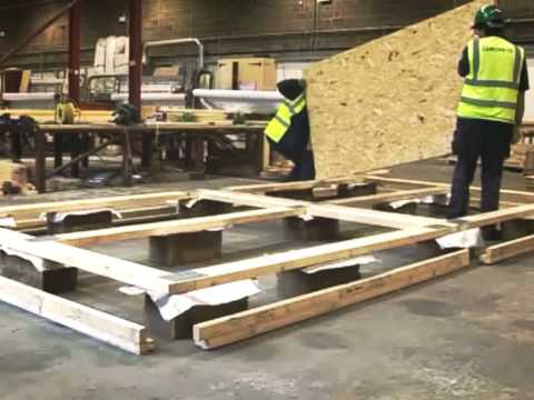 First time Octagon Prefabricated building