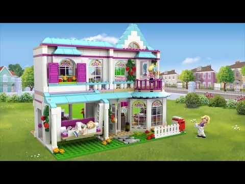 La maison de Stéphanie - LEGO Friends 41314 (BE-FR)