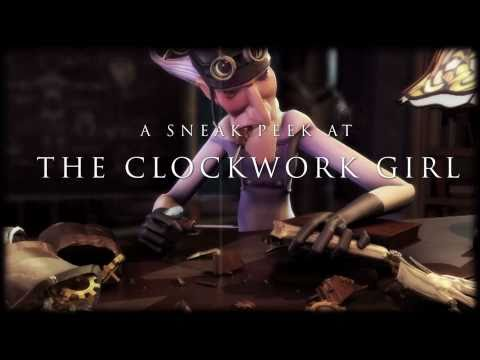 The Clockwork Girl The Clockwork Girl (Sneak Peek)