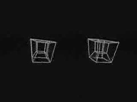Hypercube 3D Computer Animation
