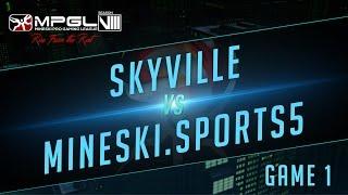 Skyville vs Mineski.Sports5 - Mineski Pro Gaming League S8 Dota 2 - Game 1 [Finals]