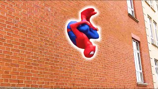 Video SPIDERMAN Fights Crime in Real Life | Parkour, Flips & Kicks MP3, 3GP, MP4, WEBM, AVI, FLV Juli 2018