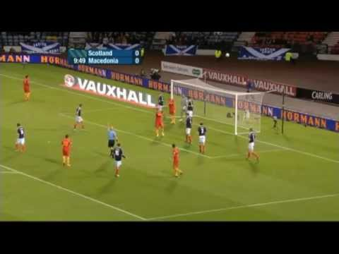 Scotland vs Macedonia 1-1 Full Match Highlights 11/09/2012