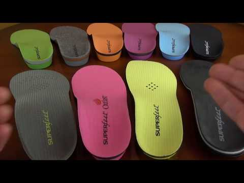 Superfeet Arch Support Review - Heritage Collection