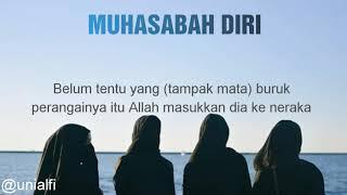MUHASABAH DIRI