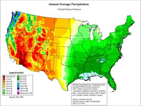 Future shifts in precipitation patterns on the United States