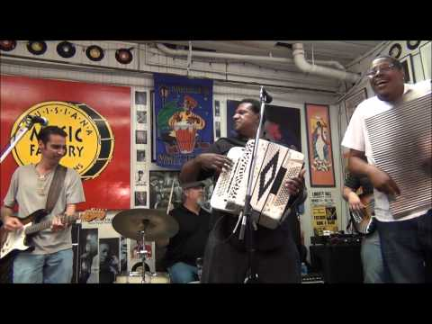 Chubby Carrier & the Bayou Swamp Band @ Louisiana Music Factory 2013