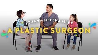 Kids Meet A Plastic Surgeon (Ethan & Helena) | Kids Meet | HiHo Kids