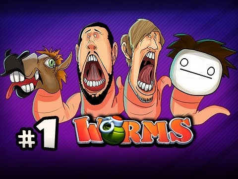 MADE IN HEAVEN - Nonsensical Worms w/ PewDiePie, Cry, Sp00n &amp; Nova Ep.1 Video