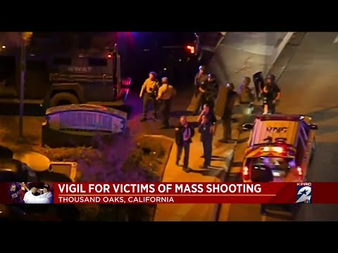 Vigil held for victims of mass shooting