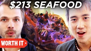 Video $3 Seafood Vs. $213 Seafood • Australia MP3, 3GP, MP4, WEBM, AVI, FLV Agustus 2019