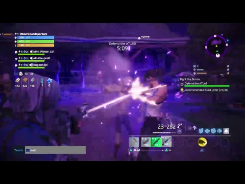 FORTNITE SAVE THE WORLD PART 1(TUTORIAL AND MORE)