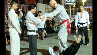 Võ sư #Flores phái Vịnh Xuân giao lưu cùng Võ sư Cù Mai Công phái #Karate và các võ sinh tại Sài Gòn Website:...