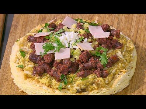 العرب اليوم - طريقة عمل بيتزا بالرومي والسجق