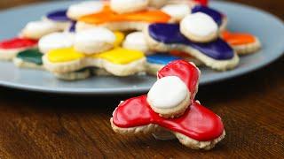 Fidget Spinner Cookies by Tasty