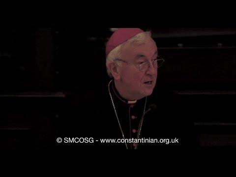 Ordine Constantiniano 2012 – Discorso dell'Arcivescovo di Westminster sulla fede nello Sport