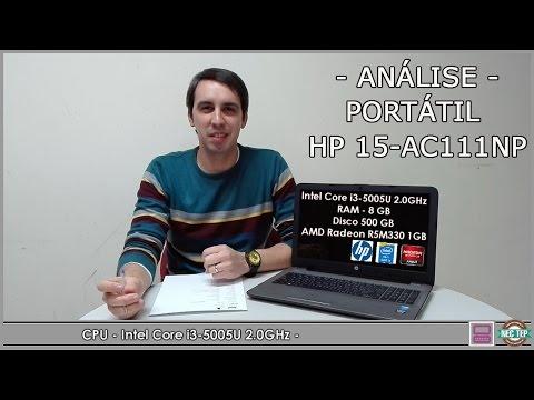 ANÁLISE AO PORTÁTIL HP 15-AC111NP | CARLOS SILVA | 2016 | TECNOLOGIA #01