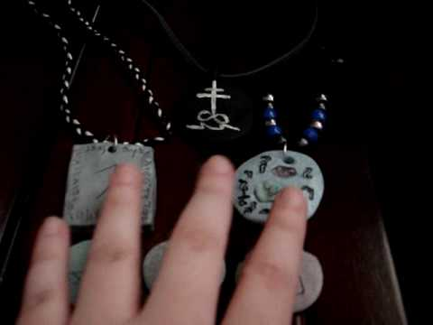 Making Clay Talismans and Amulets (2:20)