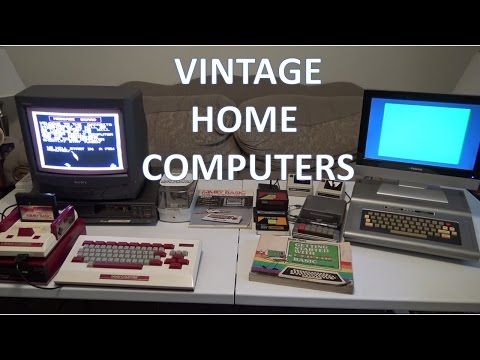 Showdown!!  TRS-80 Coco vs. Nintendo Family PC