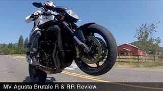 8. MotoUSA Review: 2012 MV Agusta Brutale R & RR