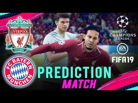 LIVERPOOL Vs BAYERN MUNICH | FIFA 19 UCL Predict Round Of 16 | Broadcast Camera - 1080HD