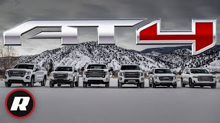 GMC gives the AT4 treatment to 2021 Yukon and Canyon by Roadshow